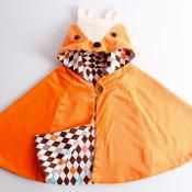 Fox cape/halloween costume/2T-6Years - via @Craftsy