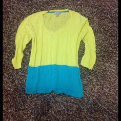 Lightweight Cable Knit Sweater Super cozy being a lightweight sweater. jcpenney Sweaters V-Necks