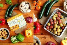Grilled Veggie Kebabs with Creamer Potatoes & Tofu » I LOVE VEGAN Vegetable Kebabs, Veggie Skewers, Vegetable Dishes, Little Potatoes, Vegan Lunches, Lentil Curry, Grilled Veggies, Delicious Vegan Recipes, Tofu