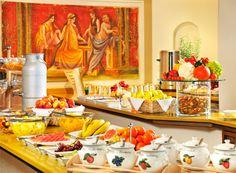 Für einen guten und gesunden Start in den Tag sorgt das große Frühstücksbuffet mit Bioecke. Restaurants, Food, Gourmet, Essen, Restaurant, Meals, Yemek, Eten