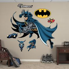 FATHEAD Batman in Action Graphic Wall Dcor *** Learn more by visiting the image link. (This is an affiliate link and I receive a commission for the sales) Life Size Batman, Succulent Garden Diy Indoor, Batman Bedroom, Batman Hero, Batman Collectibles, Christian Movies, Camping Activities, Wall Decal Sticker, Cool Walls