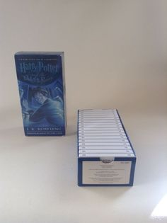 Preowned Harry Potter And The Order Of Phoenix Unabridged 17 Cassette Tape Set
