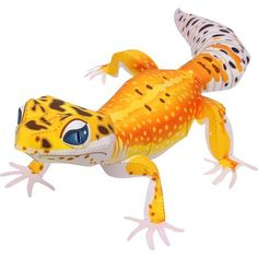 Canon Papercraft: Animal Paper Model - Leopard Gecko Free Template Download