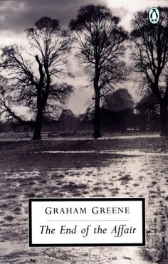 "Julia snuggled up at Gabriel's side while he put his research away and pulled out a hard-covered volume from his briefcase.  ""What's that?"" Her soft voice interrupted his thoughts.  He showed her the cover.  The End of the Affair by Graham Greene.  GI pg. 353"