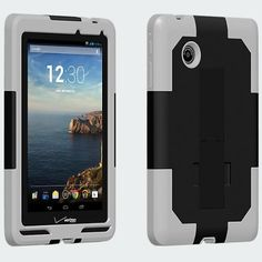 New oem verizon dual cover with kickstand for ellipsistm 7 black