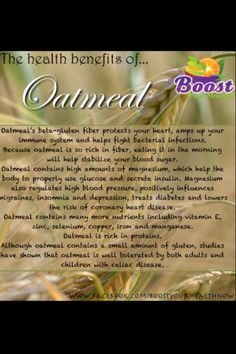 Lowers cholesterol, helps prevent cardiovascular disease, prevents diabetes and enhances immune response along with oatmeals antioxidant benefits and fiber. Oatmeal is a great way to start your day. Lower Cholesterol Naturally, Protect Your Heart, Prevent Diabetes, Bacterial Infection, Cardiovascular Disease, Immune System, Health Benefits, No Response, Oatmeal