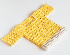 Hello my lovely crocheters! I've created a pattern for beautiful yellow beige sweater a month or two ago, but I was having a hard time to write down the pattern for bigger sizes that would fit on b...