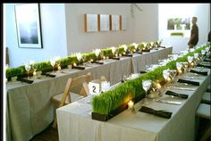 modern wedding cocktail tables - Google Search
