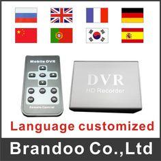 Free shipping 1 channel SD DVR, office hidden dvr,store mini DVR auto recording