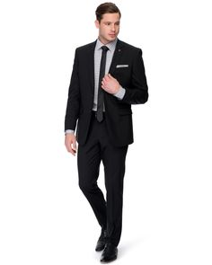 Pierre Cardin Wool Flat Fronted Suit Pants by Pierre Cardin Online | THE ICONIC | Australia