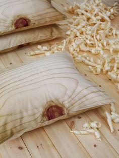 wood cushions