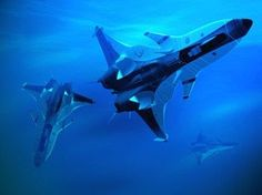 """supercavitation submarine 