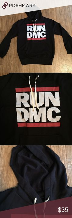 Run dmc hoody New size m is unisex Urban Outfitters Jackets & Coats