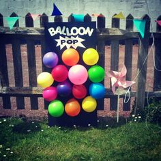 I wonder how difficult it would be to put a prize in each balloon