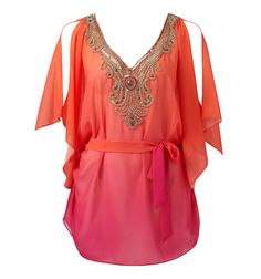 Rachel embellished kaftan - Forever New. Can you tell summer's coming back?? YAY!