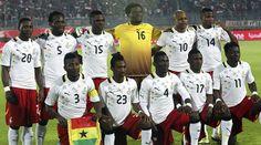 Equipo de Ghana en el mundial