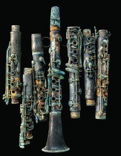 Eric Waters clarinet photo.  Sad, but beautiful.