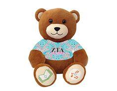 """Zeta Tau Alpha """"Big Sister"""" Bluetooth music-playing teddy bear VictoryTeddyBear http://www.amazon.com/dp/B00SA4RF1K/ref=cm_sw_r_pi_dp_EaY8vb1DXR84W"""