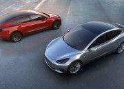 """Sabías que Tesla Model 3, el coche eléctrico """"dirigido a las masas"""""""