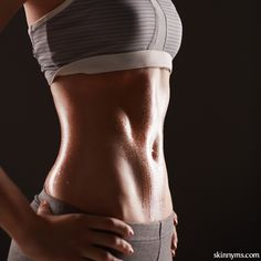 30 Day Summer Abs Challenge--get a flat tummy BEFORE summer!  #flatbelly #challenge #fitness