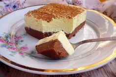Sastojci za podlogu:600 ml mleka6 kašika pšeničnog griza5-6 kašika šećera2 kašike kakao praha2 štangle čokolade za kuvanje (20-ak grama)1-2 kašike rumaSastojci za krem:1 kesica pudinga od vanile250 ml mleka (za puding)