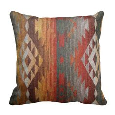 I'm obsessed with Navajo and tribal prints! Especially on rugs and pillows!