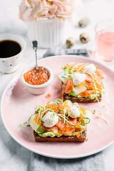ultimate smoked salmon toast via gastro senses