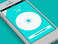 Dribbble - Music App (gif animation) by eyal zuri