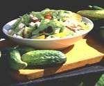 Cucumber Fettuccine Salad - Delish.com