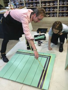 How To Paint a Simple Decorative Floor Border | Apartment Therapy