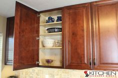 Hampton Maple Mahogany Photo Gallery | Cabinets.com by Kitchen Resource Direct