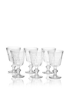 50% OFF La Rochère Set of 6 Perigord Clear Water Goblets