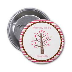 Mommy To Be Tree Button