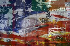 """Subtext,"" Stars Stripes & Other Things - from the Artists special printed addition.    33'x49' Lamda Print on Kodak Metallic Indura photographic paper, faced with medium plexiglass $7000.00  kenneth rst vick  photography arts"