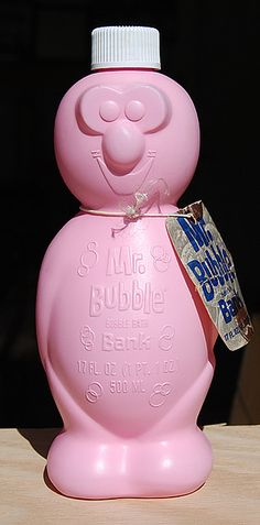 Mr. Bubble Bubble Bath Bank
