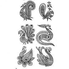 Image result for henna peacocks