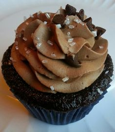 Chocolate with chocolate Mousse frosting
