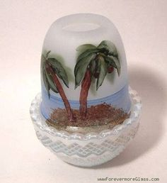 MOSSER Glimmer FAIRY Light - PALM TREES - Coconuts