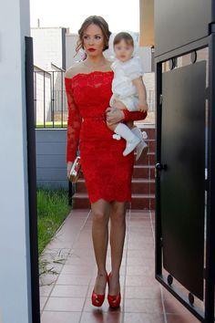 El total look rojo de Jessica Bueno