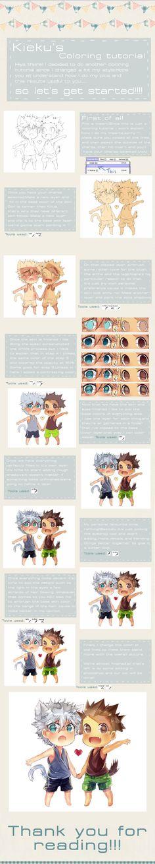 SAI Coloring tutorial by Kiekyun on DeviantArt