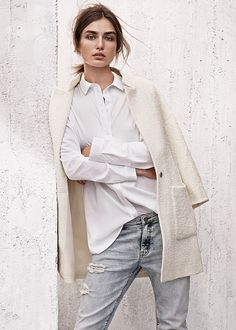 Light and textured fabric. | H&M NL