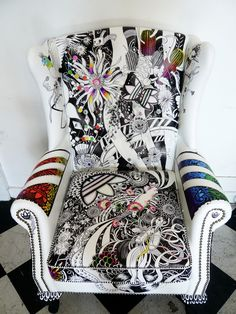 Good Wives and Warriors Adidas Chair - http://jackywinter.com/static/files/assets/0460edbe/big_chair1_highres_screen.jpg