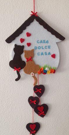 the magical world of Mary Felt Crafts Diy, Felt Diy, Clay Crafts, Diy Crafts For Kids, Easter Crafts, Arts And Crafts, Popsicle Stick Crafts, Craft Stick Crafts, Felt Christmas