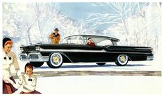 Mercury's Winter Wonderland    1958.