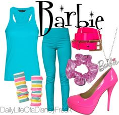 """""""Barbie"""" by all-you-need-is-love518 on Polyvore"""
