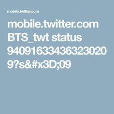 mobile.twitter.com BTS_twt status 940916334363230209?s=09