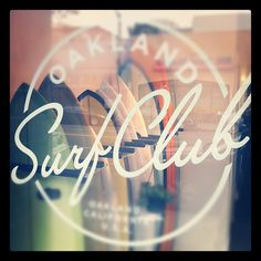 Oakland surf club front
