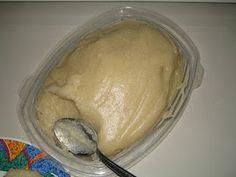 Funge (Fuba flour side dish), Angola
