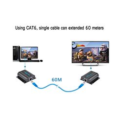 AGPtek HD HDMI Network Extender Over Single Ethernet Cable with IR Remote Control *** Click image for more details. (This is an affiliate link) Home Golf Simulator, Golf Simulators, Computer Accessories, Projector Ideas, Remote, Cable, Computers, Amazon, Link