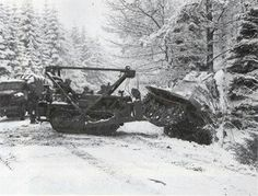 The Caterpillar series medium bulldozer began service with the U. military during World War II. Its primary role is earthmoving but it was used in a host of other roles e. mine clearing with. Ww2 Pictures, Ww2 Photos, Caterpillar D4, Picture Mix, War Image, American Civil War, War Machine, World War Ii, Military Vehicles
